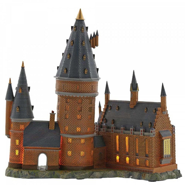 Harry Potter Village Hogwarts Great Hall and Tower