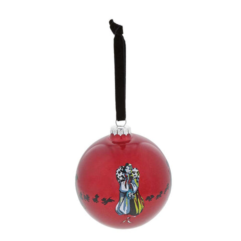 Enesco ONE CLASSY DEVIL BAUBLE  GLASS  A30002