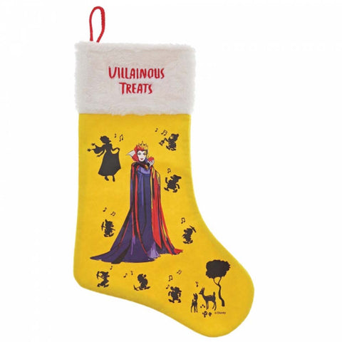 Enesco VILLAINOUS TREATS STOCKING POLYESTER  A30238