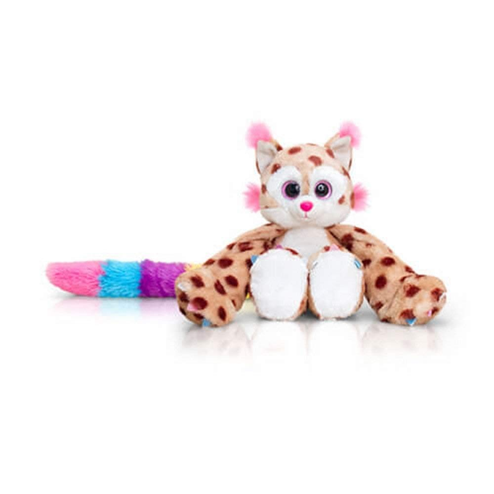 Huggems Mia Leopard 25cm Plush Cuddly Toy Small