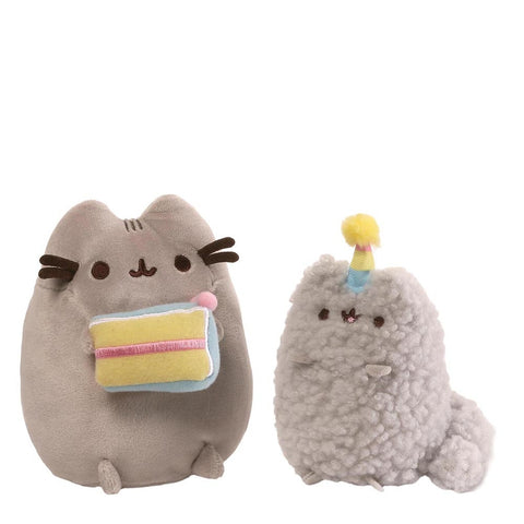 Pusheen Birthday Collectable Set Of Pusheen and Stormy