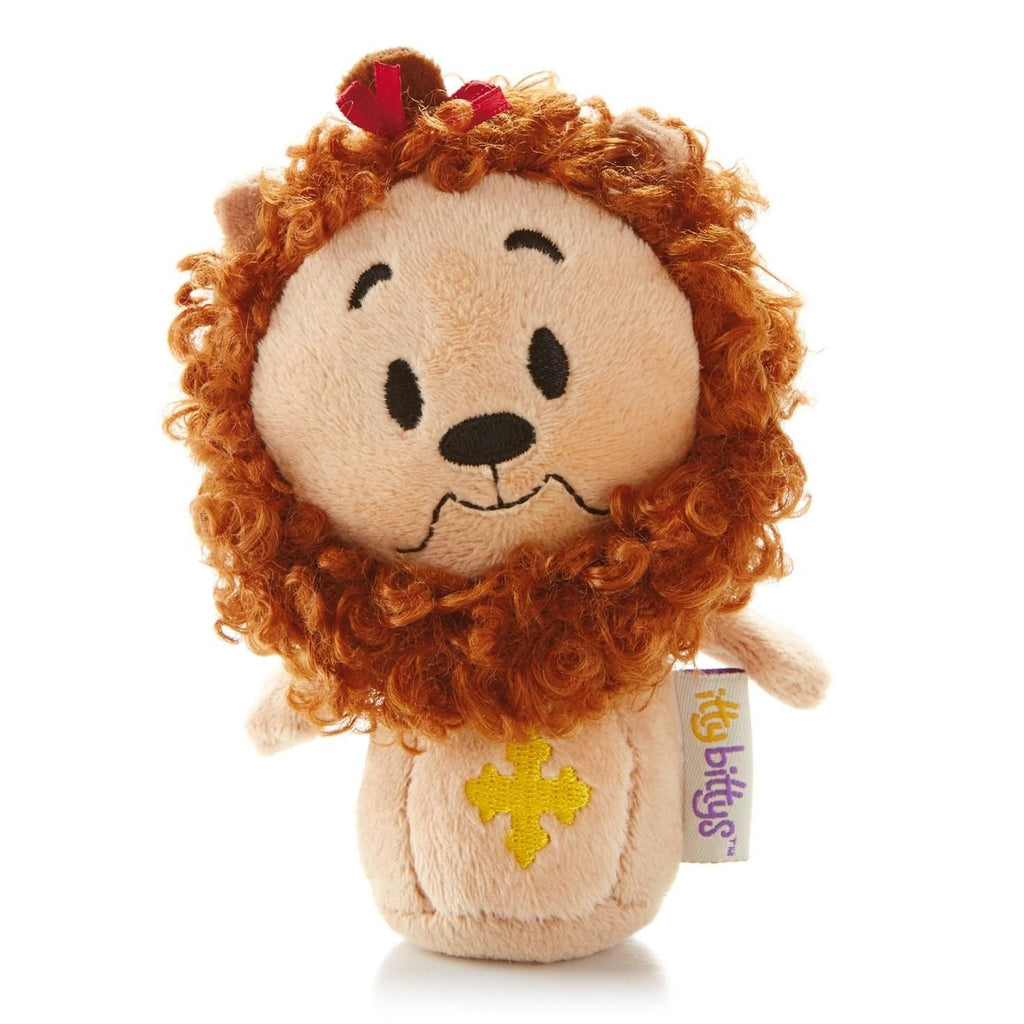 Cowardly Lion Wizard of Oz Itty Bitty Beanie Soft Toy 12cm