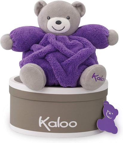 "Kaloo Jura Toys K962321 Doudou Neon Purple Chubby Bear Toy ""Small"""