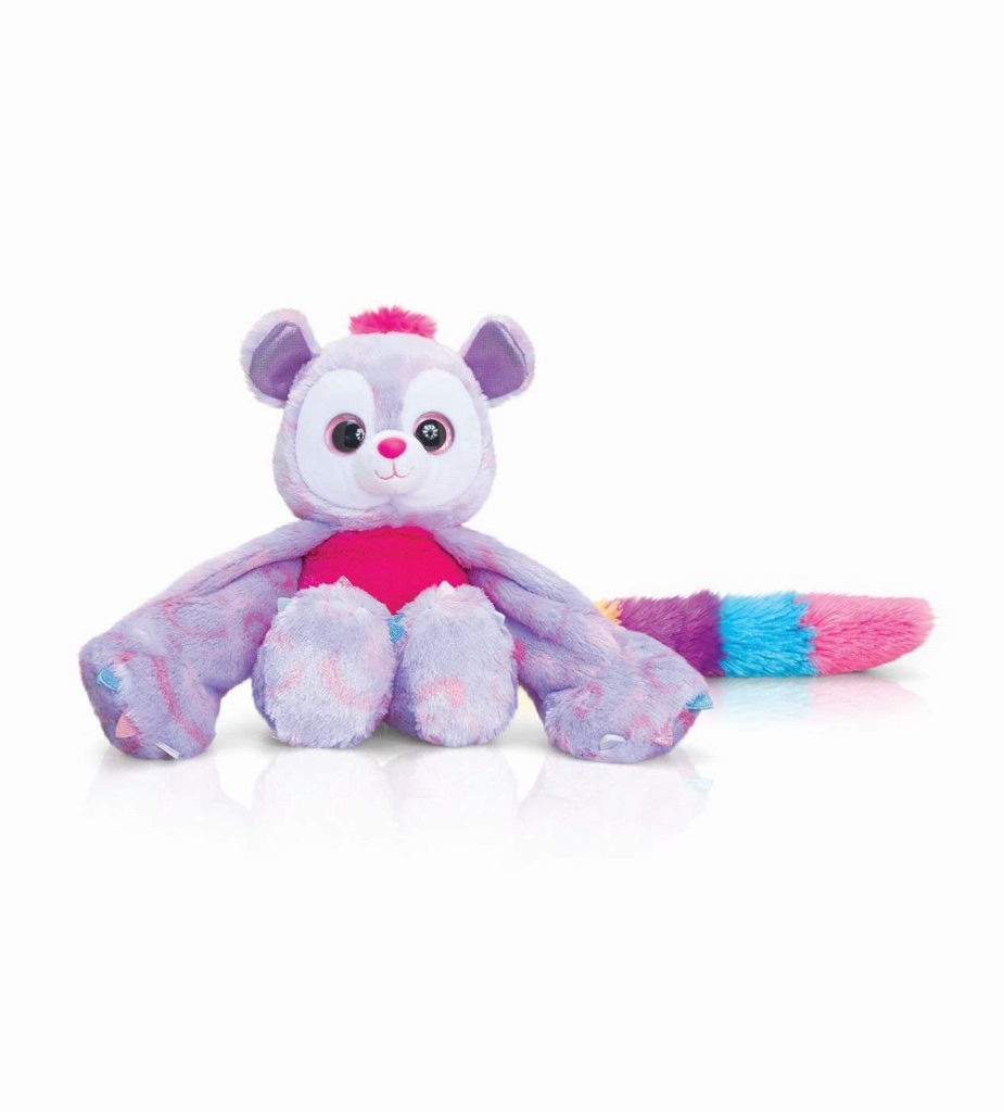 Huggems Pixie Purple Lemur 25cm Plush Cuddly Toy Small