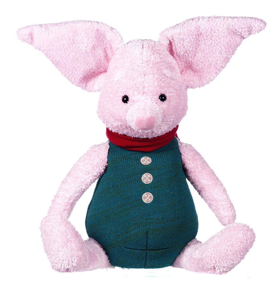 Disney Christopher Robin Collection Large Winnie the Pooh Piglet Soft Toy - 50cm