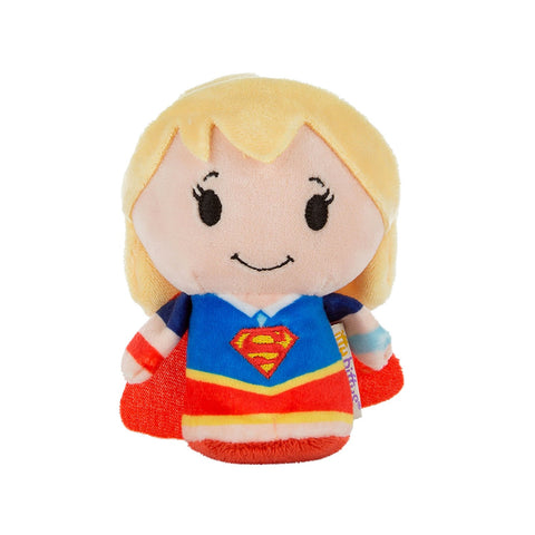 Super Girl Super Hero Girls Itty Bitty Soft Toy 12cm