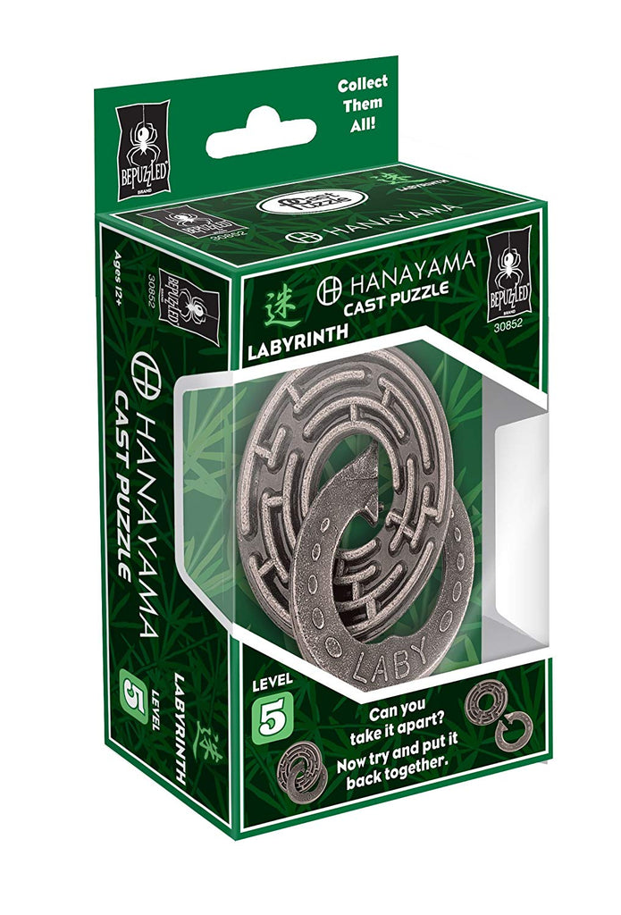Hanayama Labyrinth Brain Teaser Puzzle New Boxed