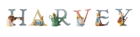 Beatrix Potter Alphabet Letters 'Harvey' Set