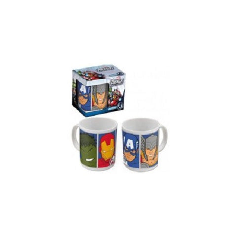 Marvel Avengers Super Hero Characters Ceramic Mug