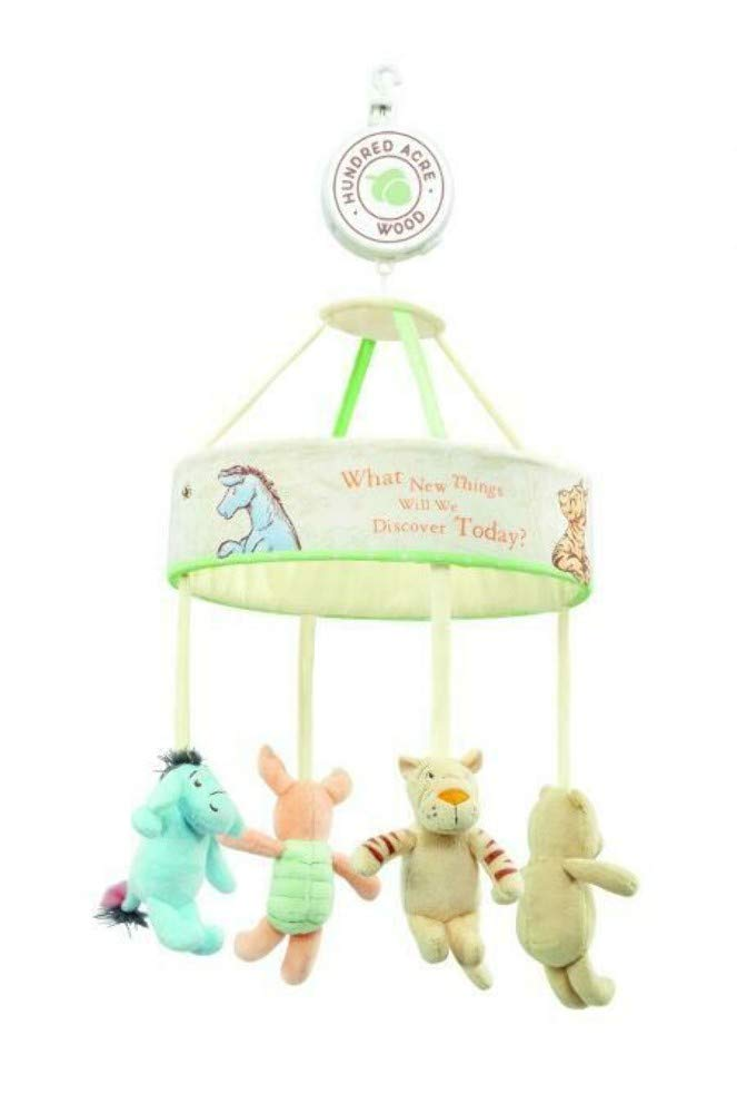 Rainbow Designs Hundred Acre Wood Winnie The Pooh Musical Mobile