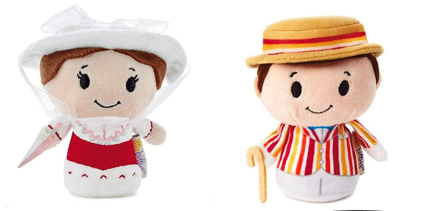 Hallmark Itty Bitty Mary Poppins and Bert Set of 2 New