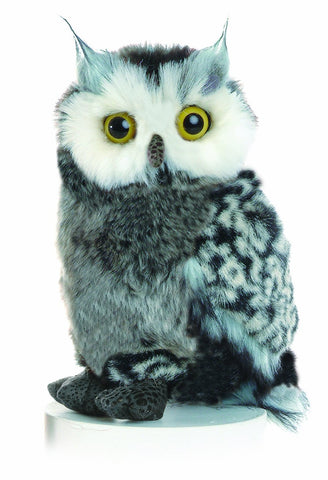 Aurora Great Horned Owl Soft Toy 23cm