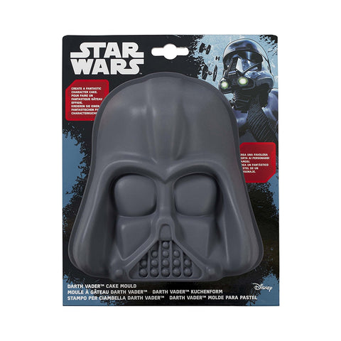 Star wars Darth Vader Cake mould Silicone Black