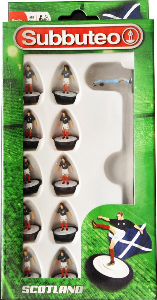 Paul Lamond Subbuteo Scotland Team Set