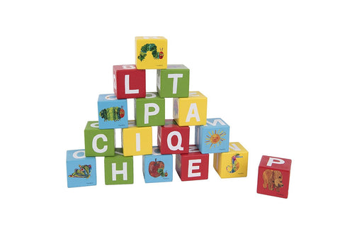 The Very Hungry Caterpillar Wooden Picture Blocks