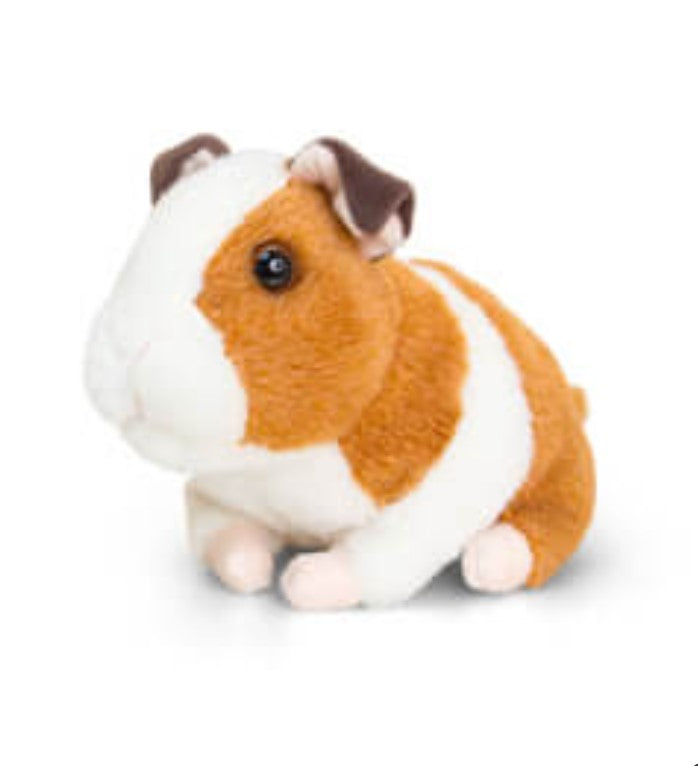 Brown Guinea Pig with sound 16cm