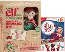 An Elf's Story DVD with An Elf for Christmas Reward Kit