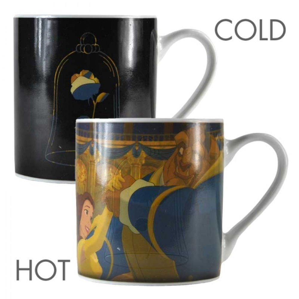 Beauty and the Beast Heat Changing Mug