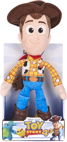 Disney 37267 Pixar Toy Story 4 Woody Soft Doll in Gift Box 25 cm