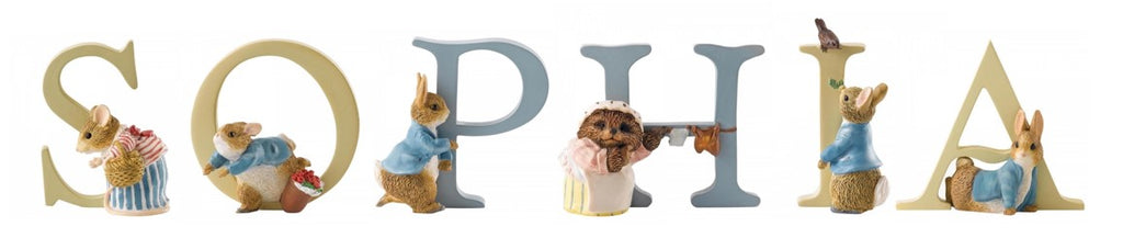 Beatrix Potter Alphabet Letters 'Sophia' Set