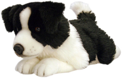Jessie Border Collie Soft Toy Dog With Name Tag 50 cm By Keel Toys