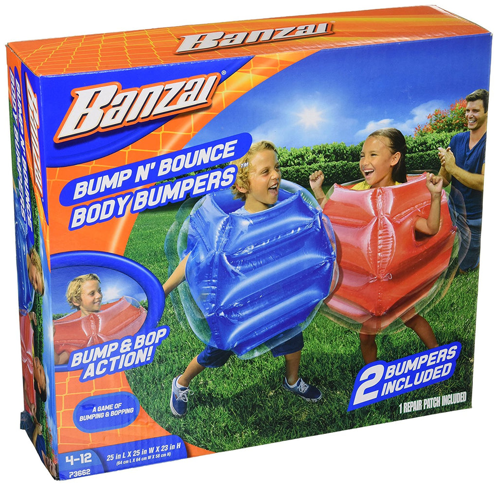 Bump n Bounce Body Bumpers Toy- 2 bumpers included by Banzai