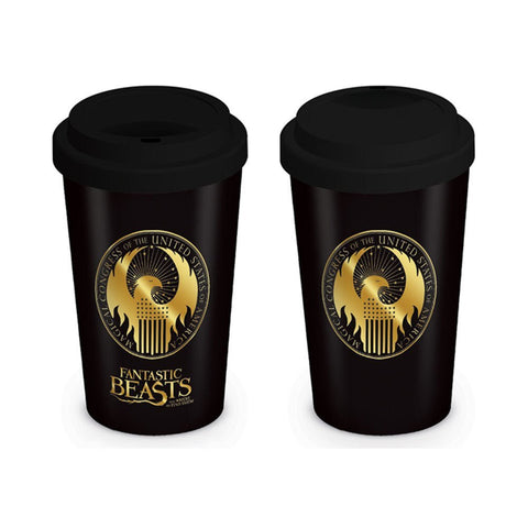 Fantastic Beasts MACUSA Logo Travel Mug
