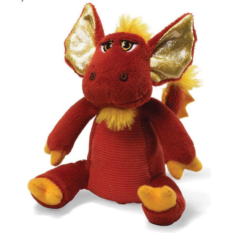 "Gund Magnus Dragon Red 6"" Plush Sound Toy s"