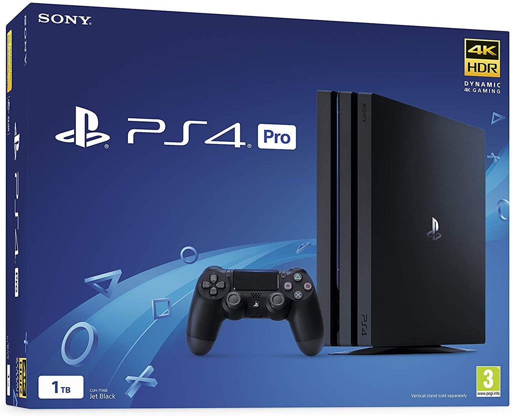 Sony PlayStation 4 Pro 1TB Console Black PS4