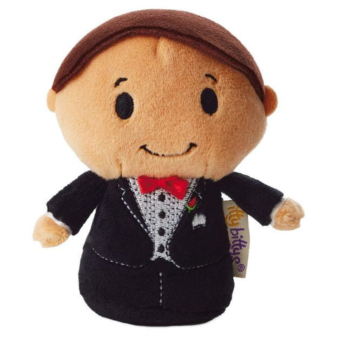 Groom Itty Bitty Beanie Soft Toy 12cm