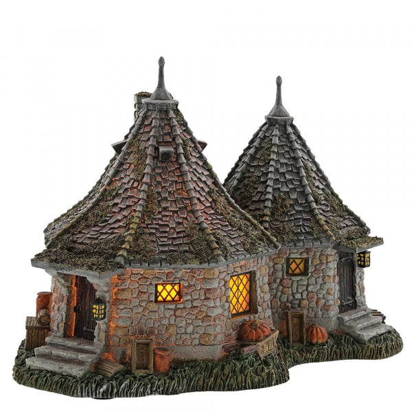 Harry Potter Village Hagrid's Hut and A Proud Hippogriff, Indeed Figure Set