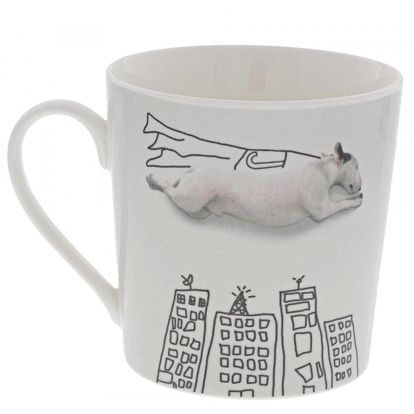 Jimmy The Bull 'Super Dog' Mug & Coaster Set