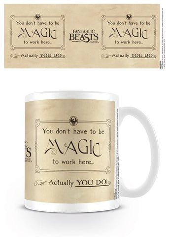 Fantastic Beasts Magic Ceramic Mug