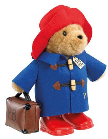 Paddington Bear Large Classic with Boots and Suitcase 33cm