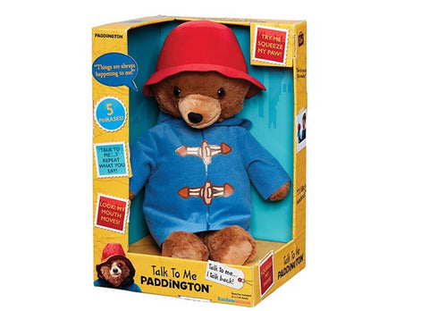 Rainbow Designs Talk To Me Paddington Soft Toy 40cm