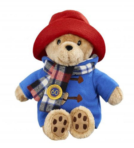Rainbow Designs Anniversary Cuddly Paddington Bear with Scarf