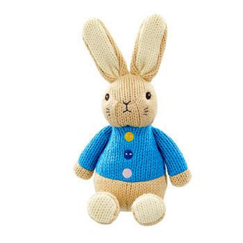 Beatrix Potter Made with Love Knitted Peter Rabbit Soft Toy by Rainbow Designs
