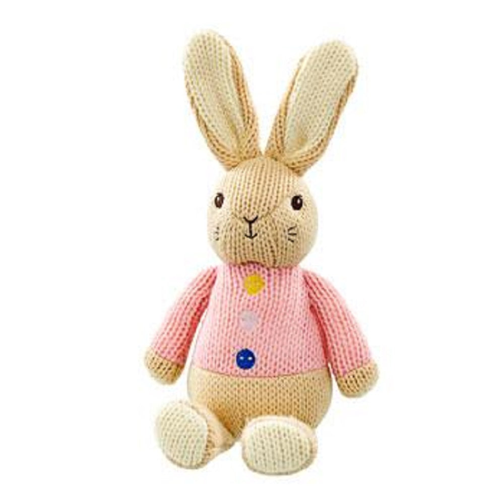 Beatrix Potter Made with Love Knitted Flopsy Bunny soft Toy
