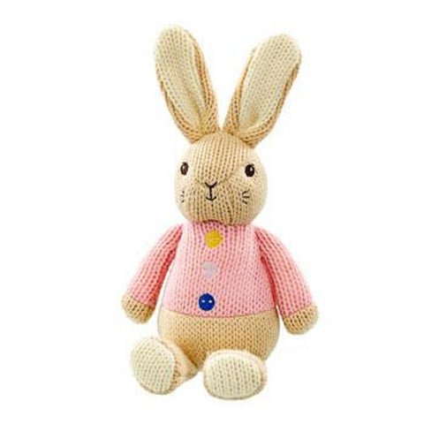 Beatrix Potter Made with Love Knitted Flopsy Bunny soft Toy by Rainbow Designs