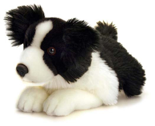 Jessie Border Collie Plush Soft Toy 35Cm Dog With Name Tag