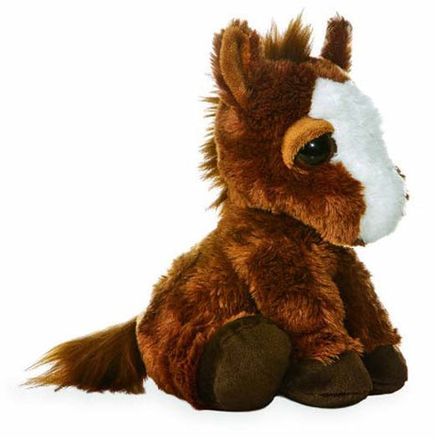 Aurora Dreamy Eyes Horse 30cmh Soft Toy Brand