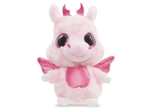Aurora World 5-Inch Yoohoo And Friends Dragon (Rose/ Pink)