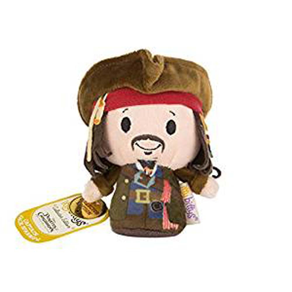 Pirates Of the Carribbean Jack Sparrow Itty Bitty Soft Toy 12cm