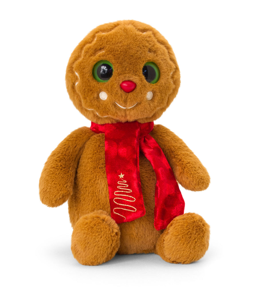 Keel Toys Gingerbread Man with Scarf 25cm
