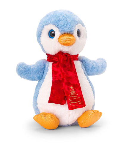 Keel Toys Penguin with Scarf 25cm