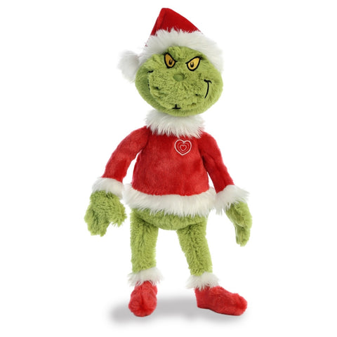 "Dr Seuss The Grinch Santa 19"" Soft Toy by Aurora"
