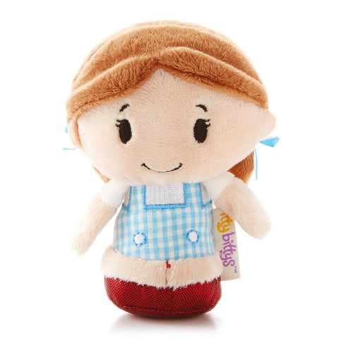 Dorothy Wizard of Oz Itty Bitty Beanie Soft Toy 11cm