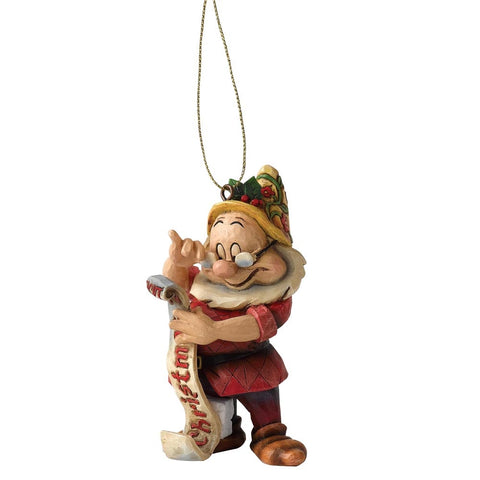 Disney Traditions Doc Dwarf Christmas Hanging Ornament