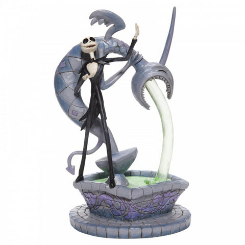 The Nighmare before Christmas Soulful Soliloquy (Jack Skellington on Fountain Figurine) 6007075 24cm