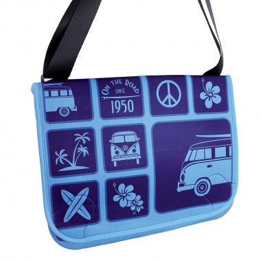 Official VW T1 Messenger Bag -Blue